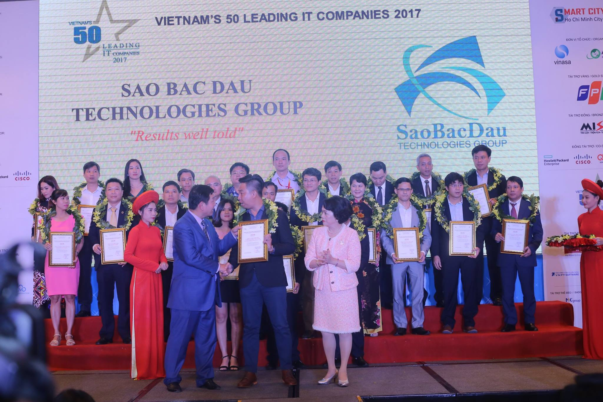 Sao Dau Continues To Be Among The Top 50 IT Enterprises In Vietnam