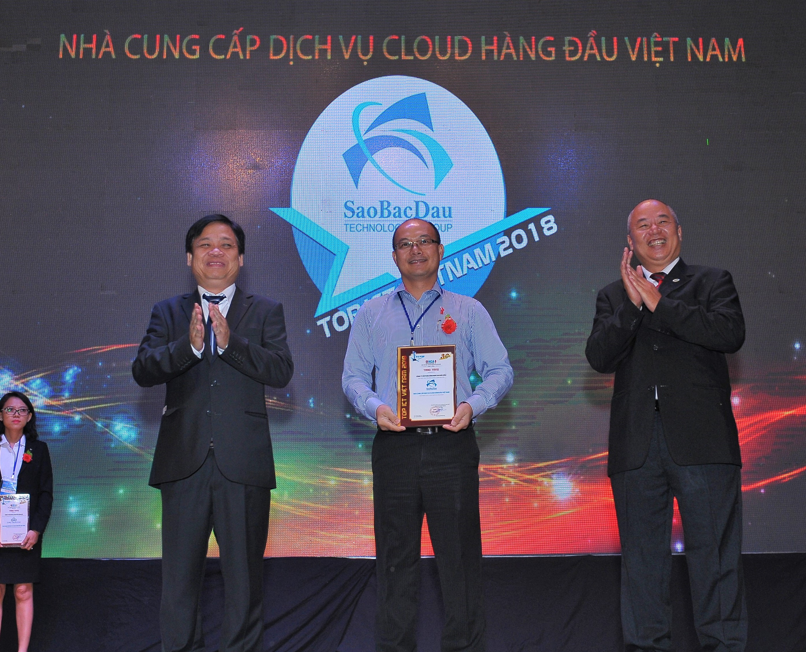 Sao Bac Dau Reaches Top ICT And Attends VIO In 2018