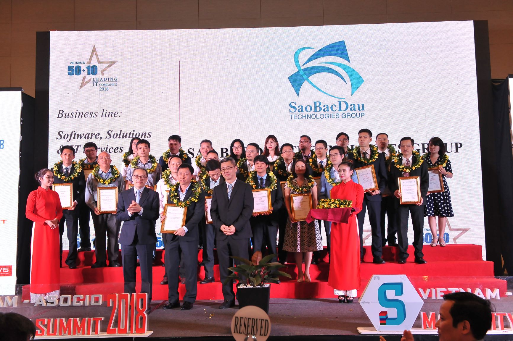 Congratulations To Sao Bac Dau For The Top 50 Vietnamese IT Entities In 2018