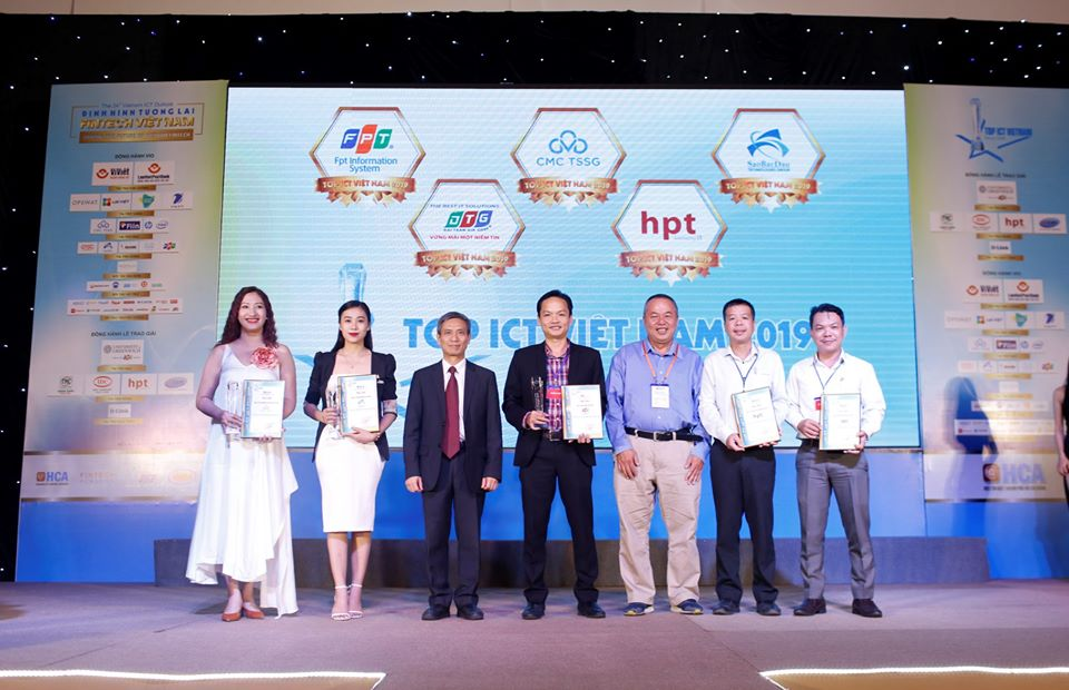 Sao Bac Dau continues to be honored with TOP ICT Vietnam 2019